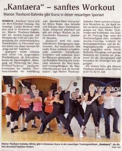 Kantaera Zeitung 28.07