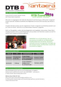 DTB Trend- Days 2015