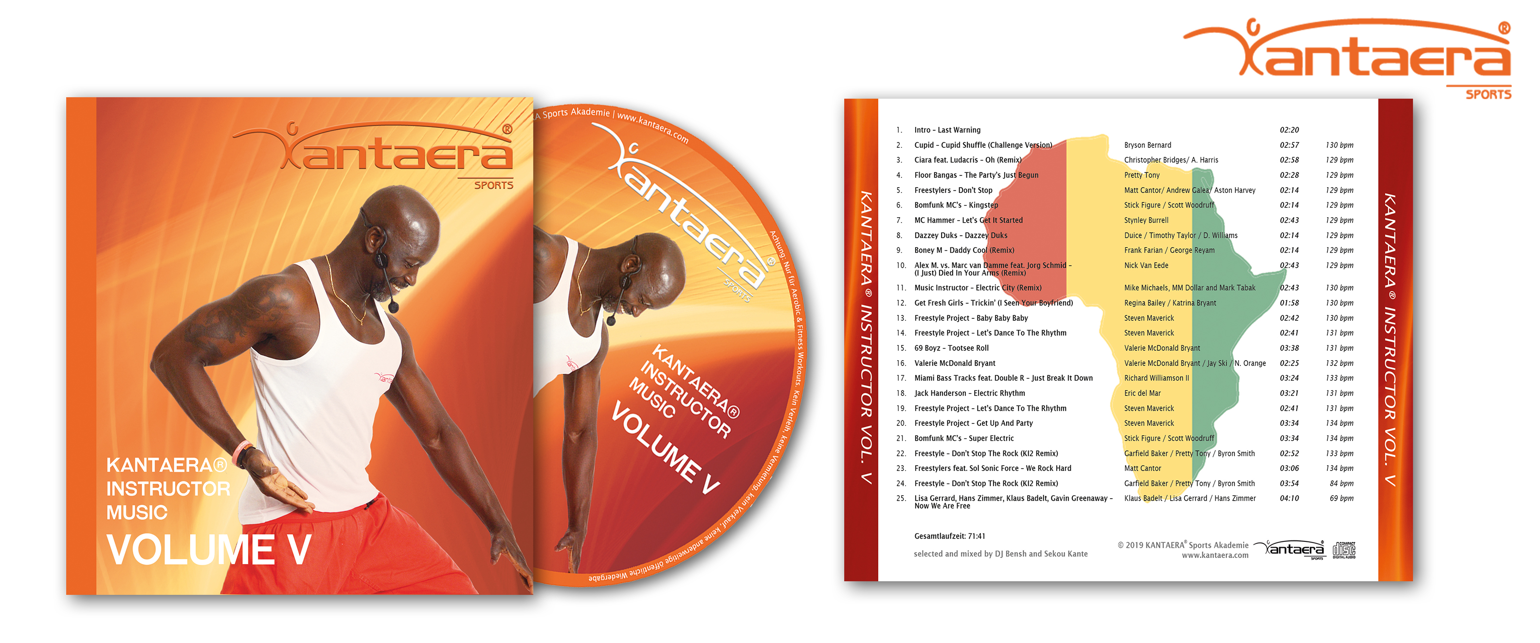 (Deutsch) NEU !!!!!! KANTAERA Instructor Music VOL. 5 als Audio CD